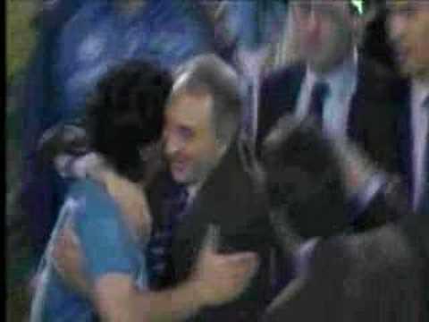 Maradona in napoli