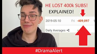 james-charles-losing-subs-explained-dramaalert-tati-westbrook-unleashed-james-charles-apology