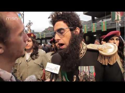 The Dictator -- MSN red carpet report