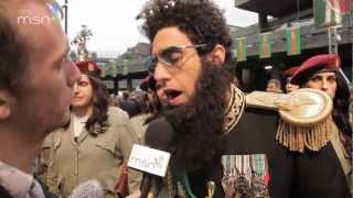 The Dictator -- MSN red carpet report
