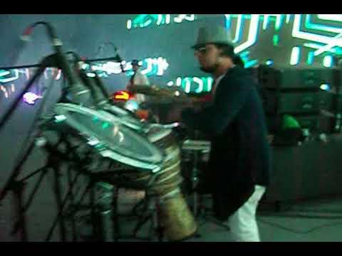 Ritu Raj Perussionist with DJ Aman Nagpal