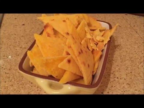 Nachos Crujientes Al Horno Youtube