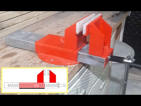 DIY Build Steel Bench Vice