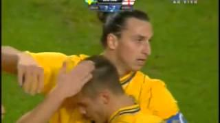 zlatan ibrahimovic 4 goals vs england