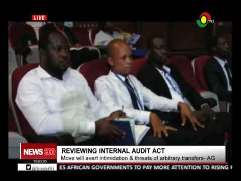 Reviewing internal audit act