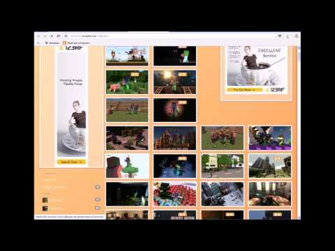 Как делать анимации майнкрафт (картинки на аву)