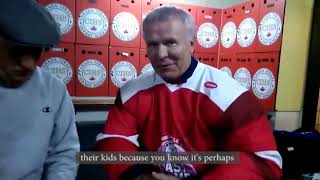 Ex-Red Wing Slava Fetisov talks global warming