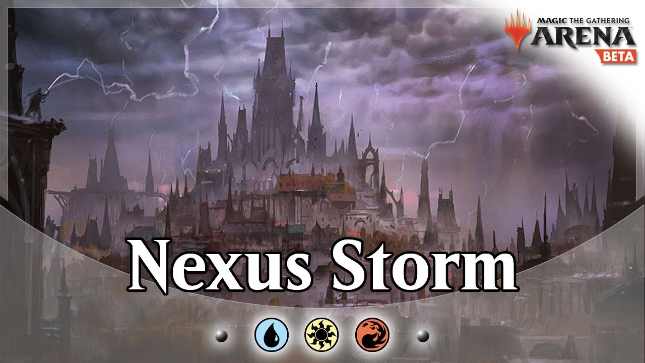 Jeskai Nexus of Fate + Thousand Year Storm Combo GRN Standard MTG Arena  Gameplay