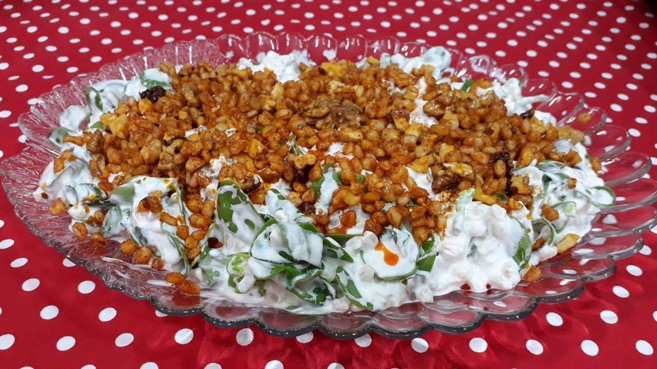 Buğdaylı Çok Renkli Salata Tarifi