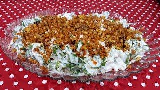 Buğdaylı Semizotu Salatası, Salata Tarifleri, Çay Saati Tarifleri