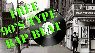90s hip hop go back rap beat free use