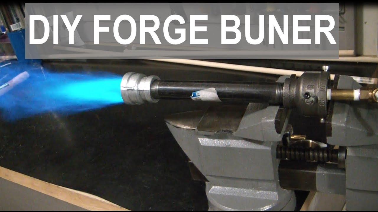 Super Simple Propane Forge Burner Elementalmaker Youtube