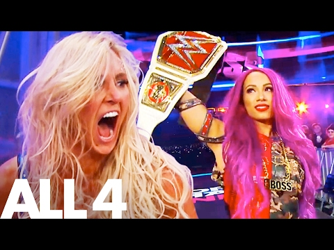 Sasha Banks & Charlotte Flair WWE Women's Wrestling Documentary | First Ever Women's Hell in a Cell