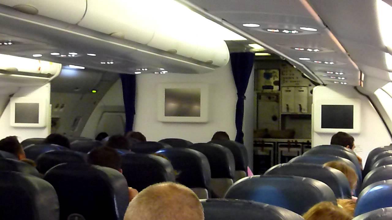 orbest orizonia xl airways airbus 330 300 cabin announcement xlf 037 punta cana to