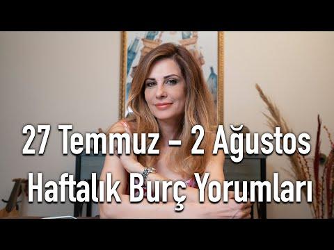 27 Temmuz - 2 Ağustos Haftalık Burç Yorumları  - Hande Kazanova ile Astroloji
