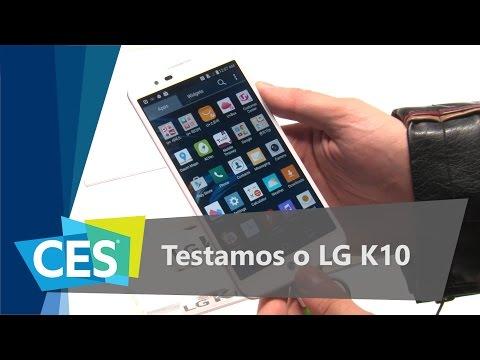 Testamos O LG K10 - CES 2016 - TecMundo