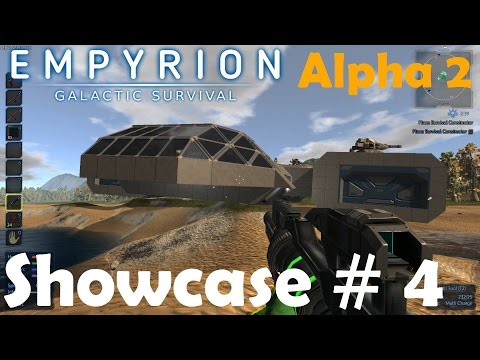 GLACTICA, BRIAN & SIMPLE FIGHTER | Showcase # 4| Empyrion–Galactic Survival | Alpha 2.0