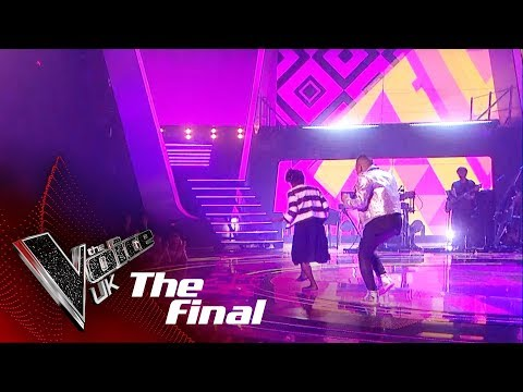 Donel Mangena Performs 'Cold Water': The Final   The Voice UK 2018