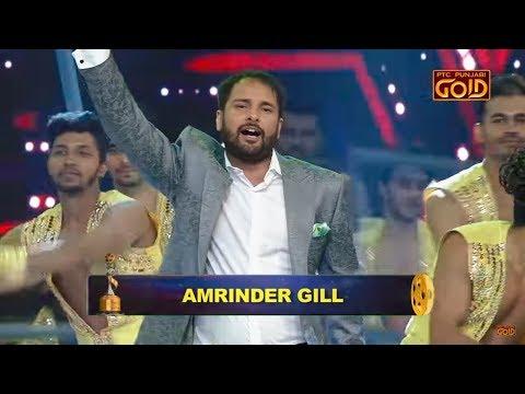 Watch Amrinder Gill Performing LIVE at PTC Punjabi Film Awards 2018