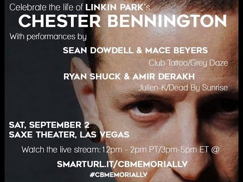 Chester Bennington tribute Saxe Theater