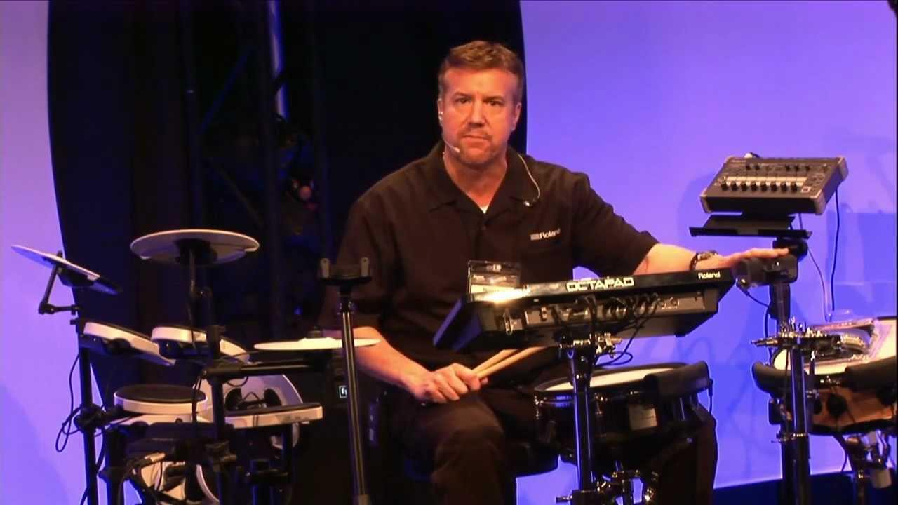 Kraft Music - Roland BT-1 Bar Trigger Pad Demo at NAMM 2013