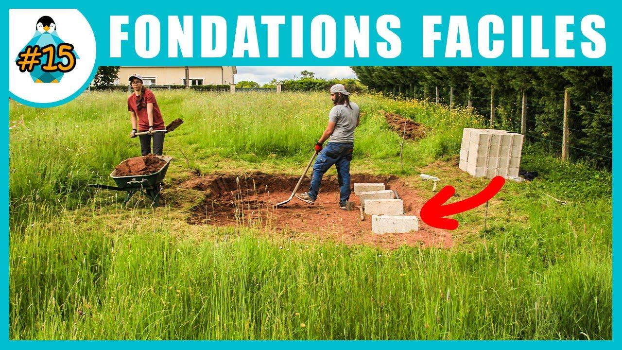 Fondations et dalle de l\'abris de jardin - LPMDP #15