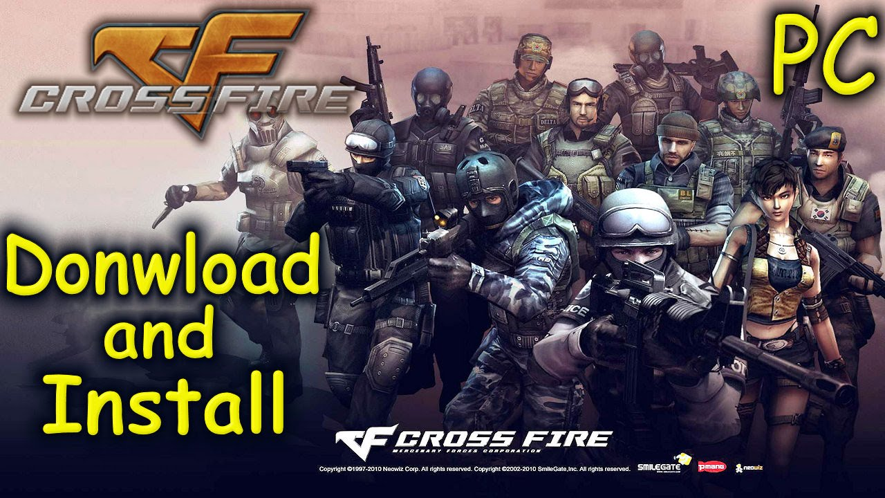 How to Download and Install Crossfire - Free FPS [PC]