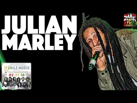 Julian Marley  Boom Draw @9 Mile Music Festival in Miami, FL February 27th 2016