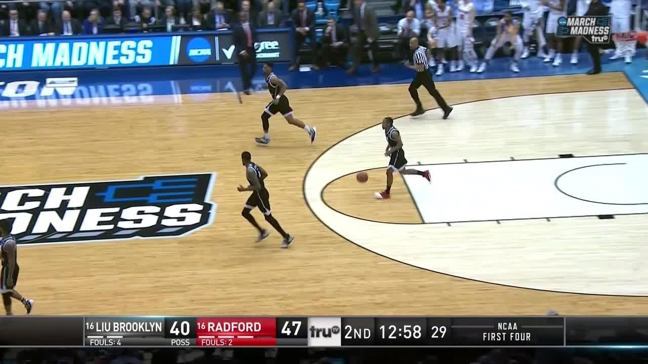 NCAA First Four: LIU Brooklyn vs. Radford