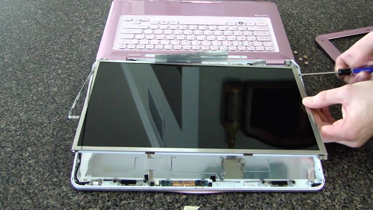 laptop screen replacement how to replace laptop screen sony vgn rh youtube com