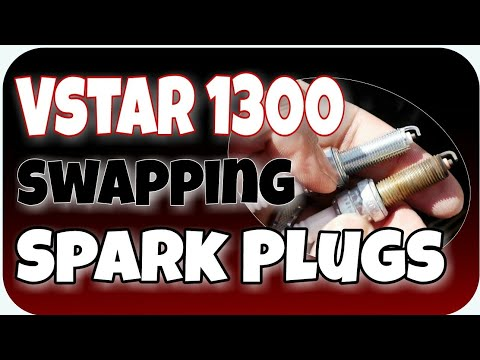 Swapping spark plug in the Star 1300 | Vlog #218