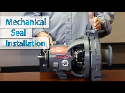 Mechanical Seal Installation For Flowserve Mark 3 Pump | Siewert Equipment | Upstate NY