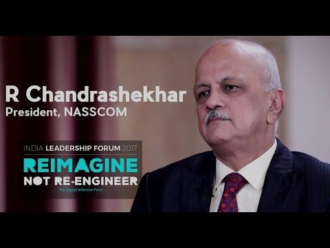 R Chandrashekhar, President NASSCOM || NILF 2017