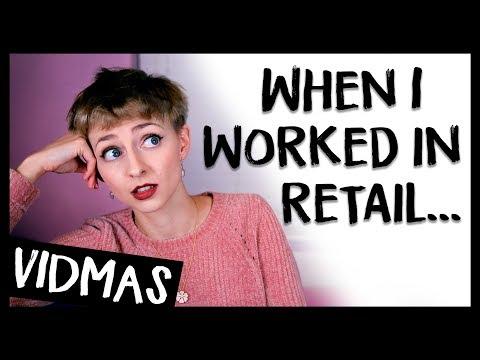 WHEN I WORKED IN RETAIL 😐😜🎁💰 VIDMAS #21