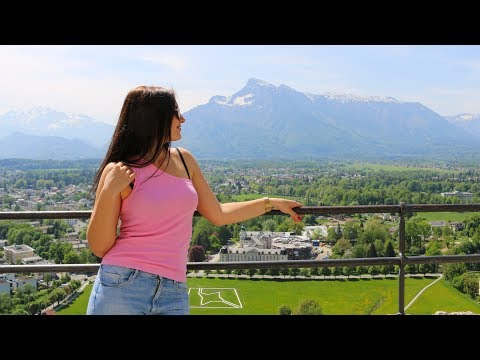 Австрия. Зальцбург. Самый красивый город. Райское место. Город Моцарта
