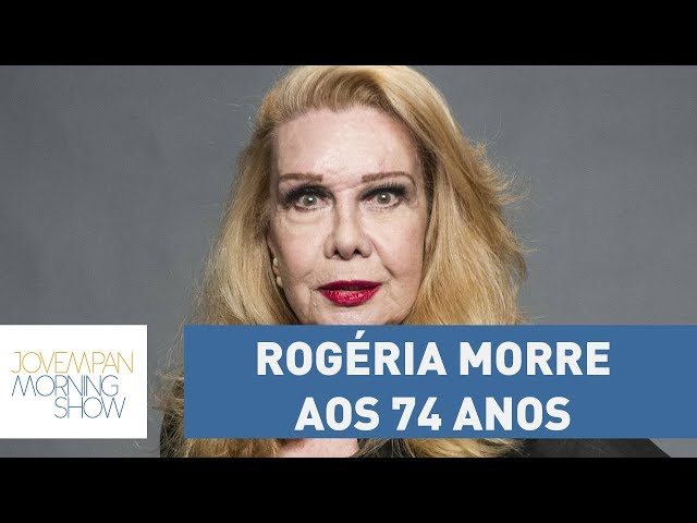 """Travesti da família brasileira"", Rogéria morre aos 74 anos | Morning Show"