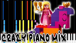 Crazy Piano Mix! NOT EVIL (The Lego Movie 2)
