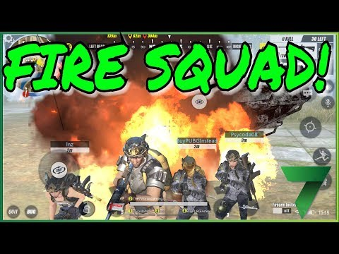 FIRE SQUAD pt. 2 with SUBS!   Rules of Survival