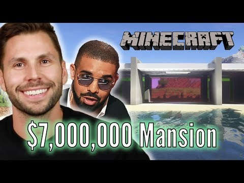 """Architect Builds Drake's $7,000,000 Mansion In """"Minecraft"""" • Pro Play Mp3"""