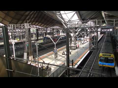 Melbourne - Public Transport - Southern Cross Railway Station Tour 2015 12 18