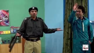 HARAMI POLICE - RASHID KAMAL & QAISAR PIYA - PAKISTANI STAGE DRAMA FULL COMEDY CLIP