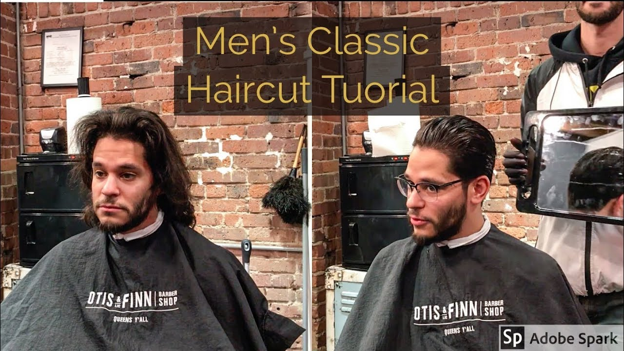 Mens Classic Haircut Tutorial Youtube
