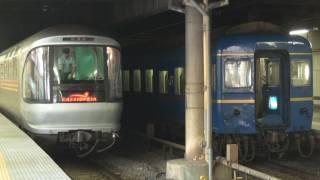 """Hokutosei""and""Cassiopeia"" Ueno Station."