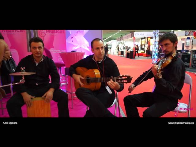 A Mi Manera - Guitarra, Violin y Cajon Bodas Murcia Almeria Flamenco Sevilla spanish wedding