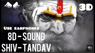 Shiva Tandava Stotram in (8d) use earphones 3D sound __ Original Powerful & Best Trance