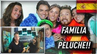 ESPAÑOLES REACCIONAN A LA FAMILIA PELUCHE -El Súper Episodio del Súper-