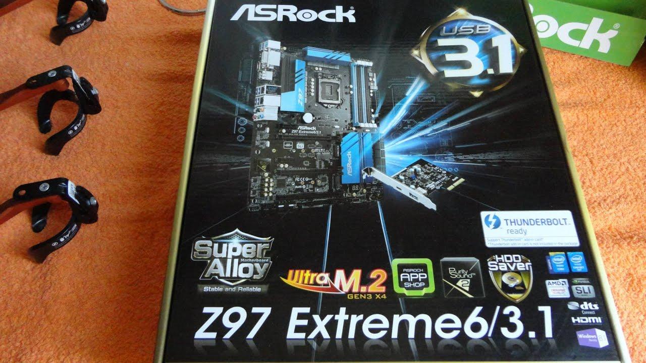 ASRock Z97 Extreme6/3.1 Driver Windows