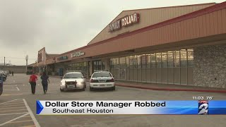 Family Dollar store robbed in southeast Houston