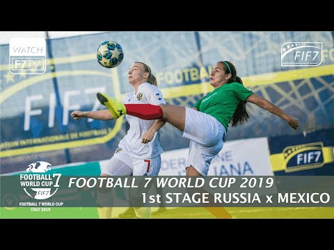 Russia Vs Mexico - Football 7 World Cup 2019 - 1st Place (Women)