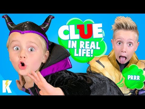 Who Tooted? CLUE Board Game in Real Life  Who TOOTED? KIDCITY